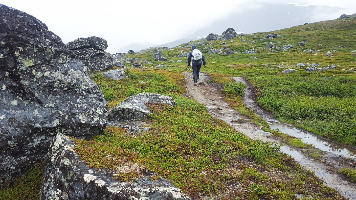 hiking kungsleden - Photo © Amanda Matti