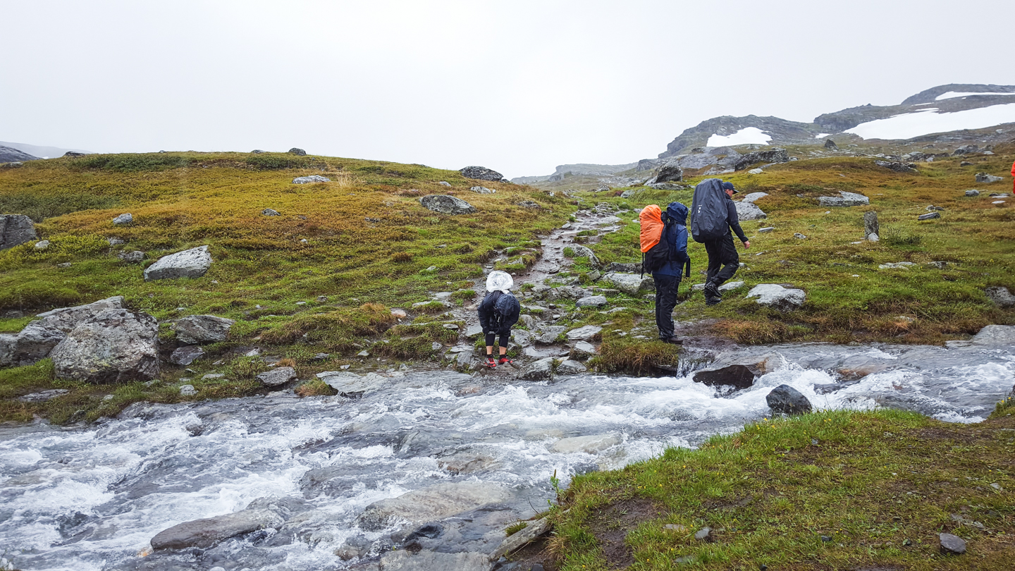 trail running kungsleden - Photo © Amanda Matti