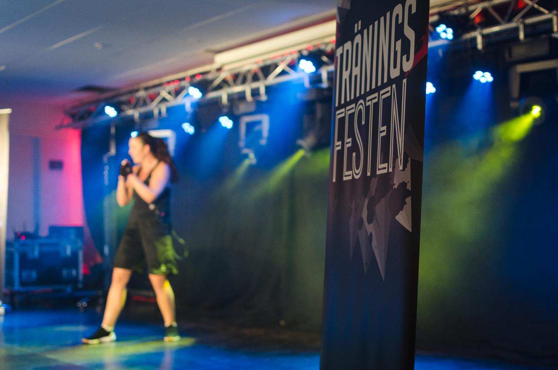 Bodycombat at Träningsfesten Linda Bjurholt