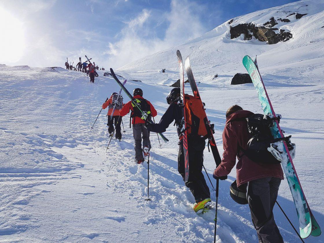 hike upp på nordals - sbmc riksgränsen