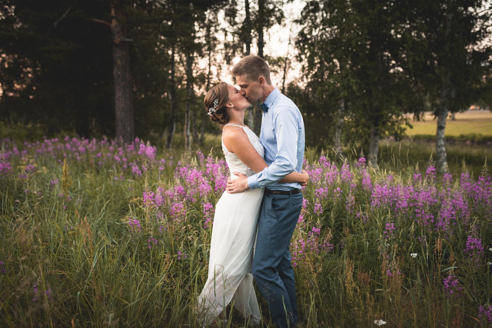 Bröllopspar Gällivare